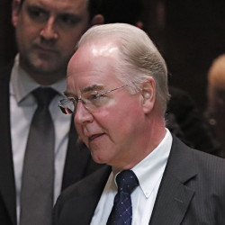 """Georgia Rep. Tom Price, an orthopedic surgeon, will """"lead the charge"""" on repealing and replacing President Barack Obama's signature health care law, which Trump targeted during his presidential campaign. Associated Press/Carolyn Kaster"""