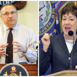 "Gov. Paul LePage said on a radio talk show, ""I think Susan Collins is done in Maine."" Her spokeswoman disagreed, and said Maine's senior U.S. senator is ""looking forward to many more years of service to Maine."""