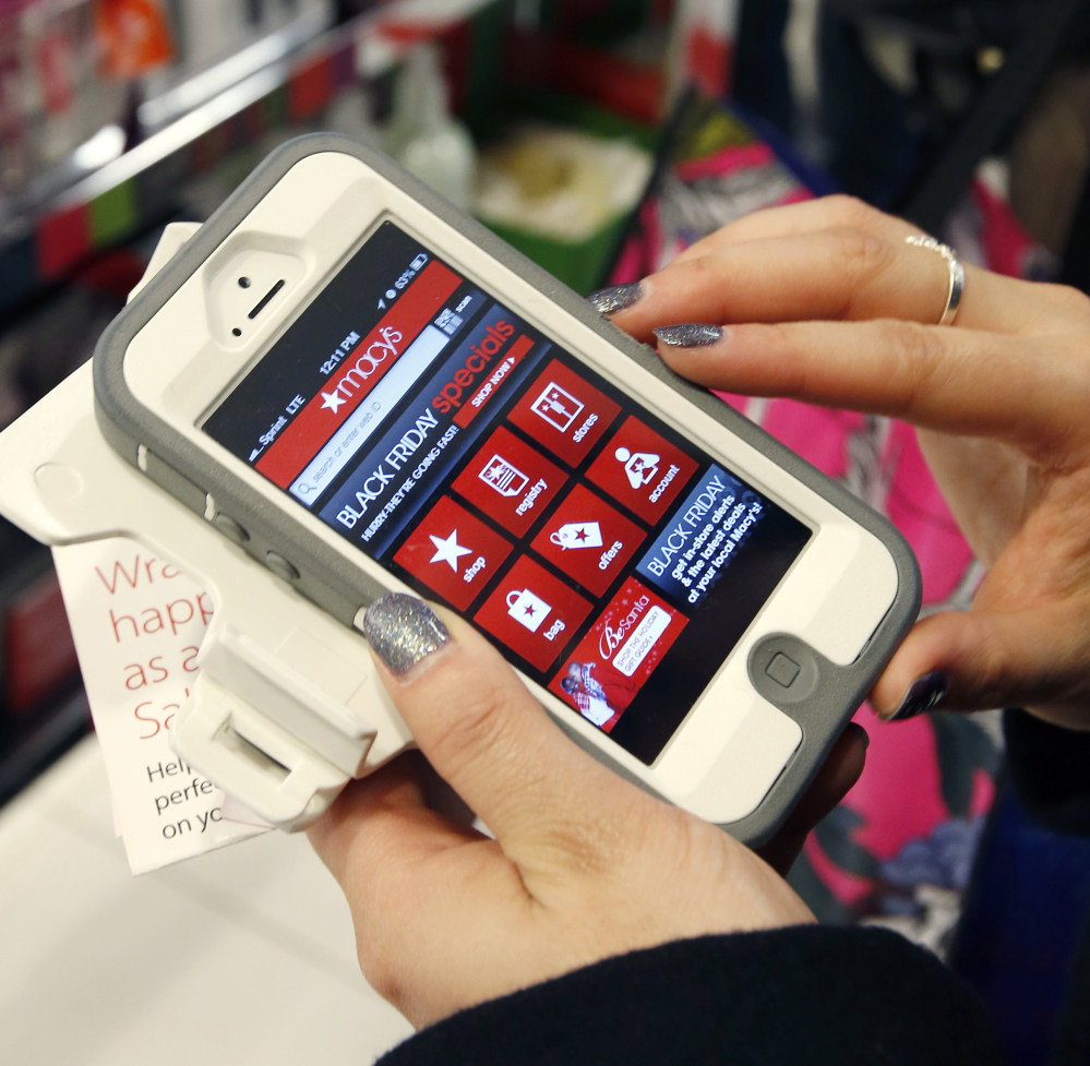 Stores are making mobile shopping easier and faster as they try to lock in sales.