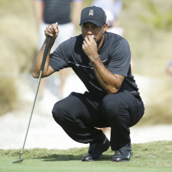 "Tiger Woods took no time feeling comfortable playing again. ""By the … second hole I had already gotten into the flow of the round,"" he said."