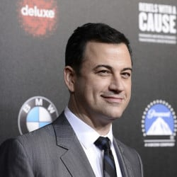 "FILE - In this March 20, 2014, file photo, television personality and event host Jimmy Kimmel attends the 2nd Annual ""Rebels With a Cause"" Gala benefiting the USC Center for Applied Molecular Medicine at Paramount Pictures Studios in Los Angeles. The Oscars finally have a host: Kimmel will emcee the 89th Academy Awards. Kimmel will be hosting the show for the first time, the Academy of Motion Pictures announced Monday, Dec. 5, 2016.  (Photo by/AP, File)"