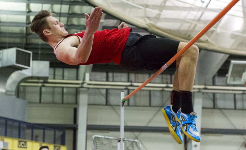 Despite some big graduation losses, Scarborough could contend for another Class A state championship, led by Sam Rusak, the reigning champion in the high jump and pole vault.