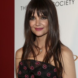 "Katie Holmes attends a screening of her first film as a director, ""All We Had,"" on Tuesday in New York."