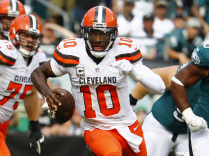 Robert Griffin III started the season opener for the Cleveland Browns but broke his left shoulder. He'll get an opportunity to start again Sunday against the Cincinnati Bengals.