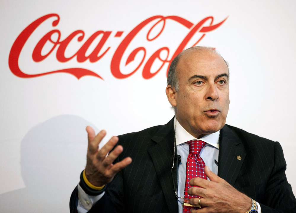 Coca-Cola CEO Muhtar Kent to step down next year