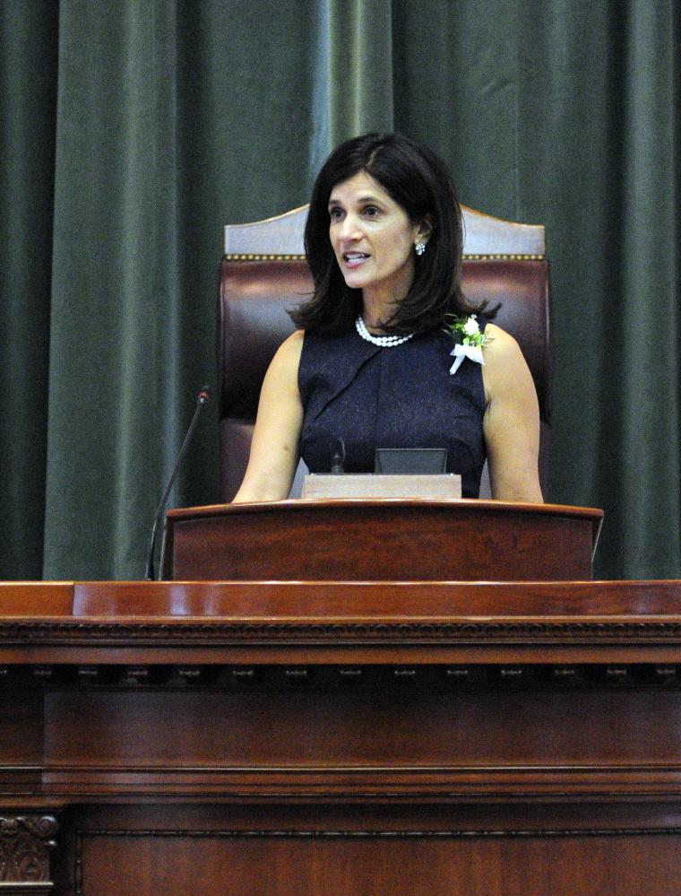 Even though state Rep. Sara Gideon, D-Freeport, is Maine's new speaker of the House, women are still far from equally represented in Augusta.