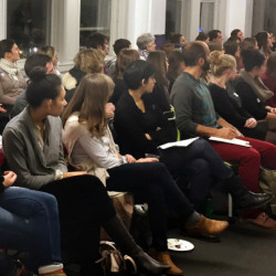 """Volunteers fill the available seats at a recent volunteer training session at the Planned Parenthood office in Portland. """"We expected 50 and more than 100 people showed up,"""" said Nicole Clegg, vice president of public policy."""