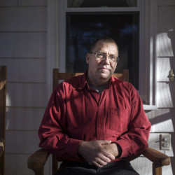 Tony Verdelli of South Portland sought to help Michelle Breault with her substance abuse issues.