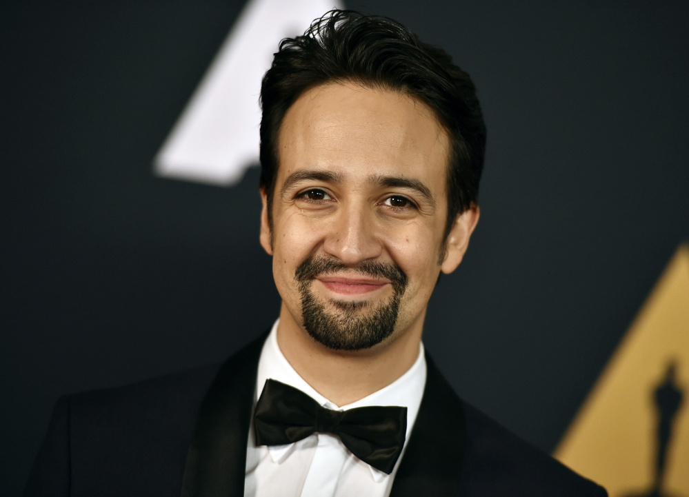 Lin-Manuel MIranda co-wrote the songs for Disney's latest animated hit,