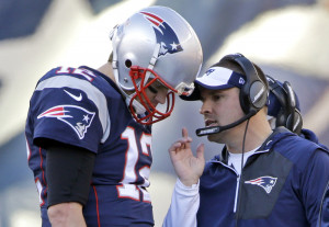 New England Patriots offensive coordinator Josh McDaniels had to overcome Tom Brady's suspension. He did, and was in the running for his second head coaching job until Monday, when he decided to withdraw from consideration as head coach of the 49ers.