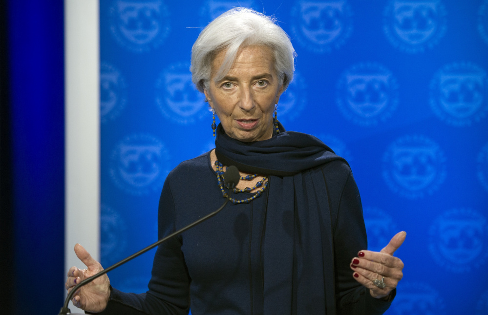 International Monetary Fund Managing Director Christine Lagarde, speaking in Washington, D.C., on Monday, thanked the IMF's executive board for its confidence in her.