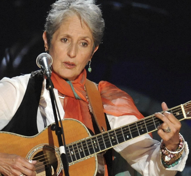 Although hardly a rock 'n roller, Joan Baez will be feted as one next April in Cleveland.