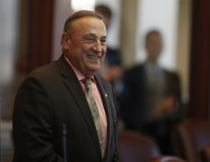 Gov. Paul LePage's interpretations of the state's constitution again were called into question Tuesday following an interview he did with WVOM-FM in Bangor.