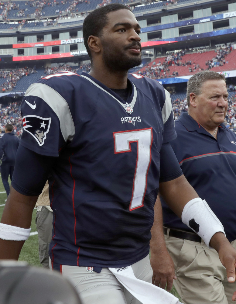 Each NFL team is allowed to activate one player from injured reserve and New England chose quarterback Jacoby Brissett, who helped the Patriots win three of four games while Tom Brady was suspended.