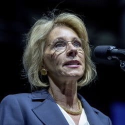 Education Secretary-designate Betsy DeVos supports charter schools and vouchers.