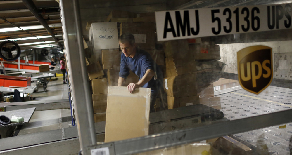 UPS expects to deliver 1.3 million packages back to retailers on Jan. 5, celebrated by the delivery service as