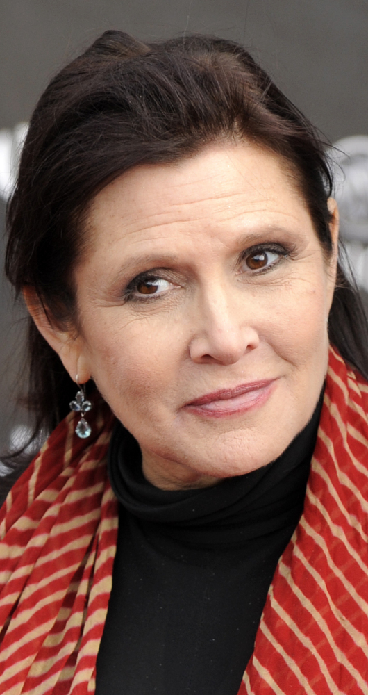 Carrie Fisher in 2011