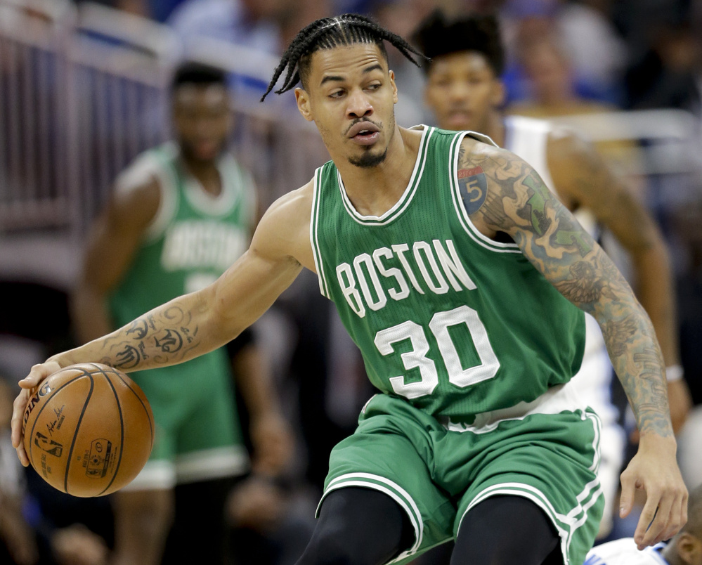 Gerald Green played just three times from Nov. 19 to Dec. 23, but Celtics Coach Brad Stevens has now turned to him in back-to-back games looking for an offensive spark off the bench – and found it.