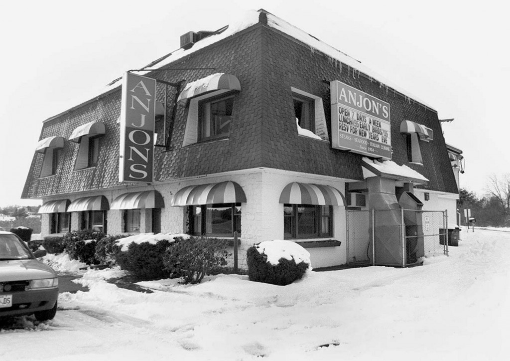 Anjon's restaurant in Scarborough, shown in 1998, has been a family-owned fixture for 60 years.