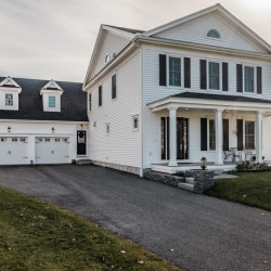 The home, 16 Colonel Dow Drive, Scarborough, was built in 2014.