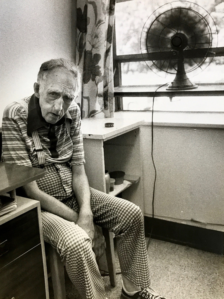 A patient is shown at Pineland Center in New Gloucester in 1978. The worst abuses at Pineland were alleviated by the 1990s, one state official says.