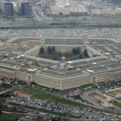 The Pentagon, seen in 2008.