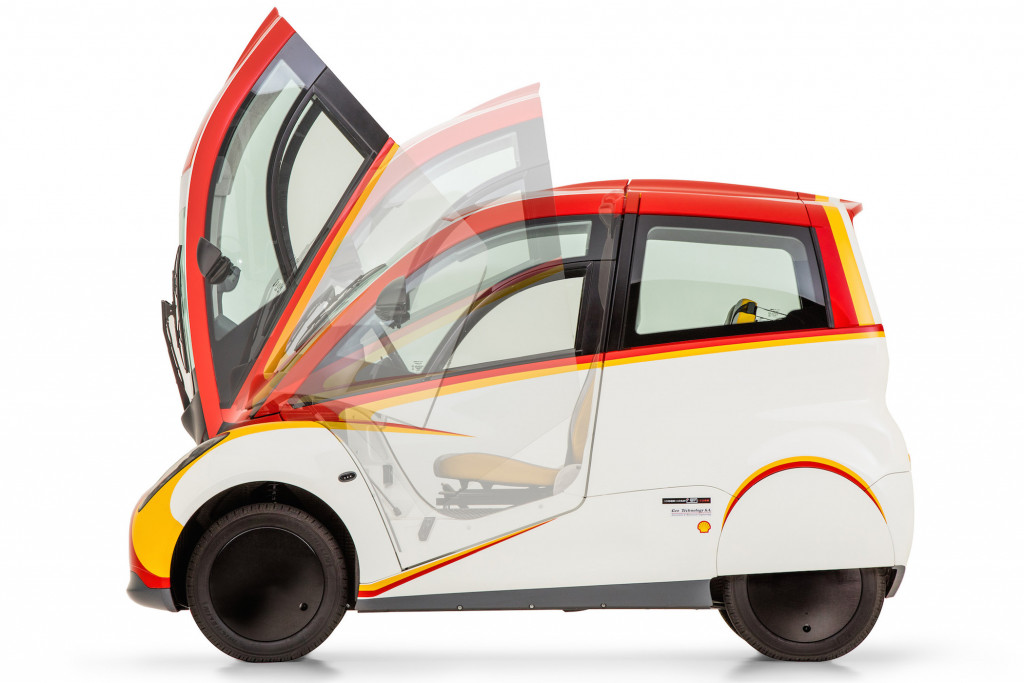 The Shell Concept Car is the result of collaboration between Shell (fuel and lubricant knowledge); Geo Technologies (engine expertise); and Gordon Murray Design.