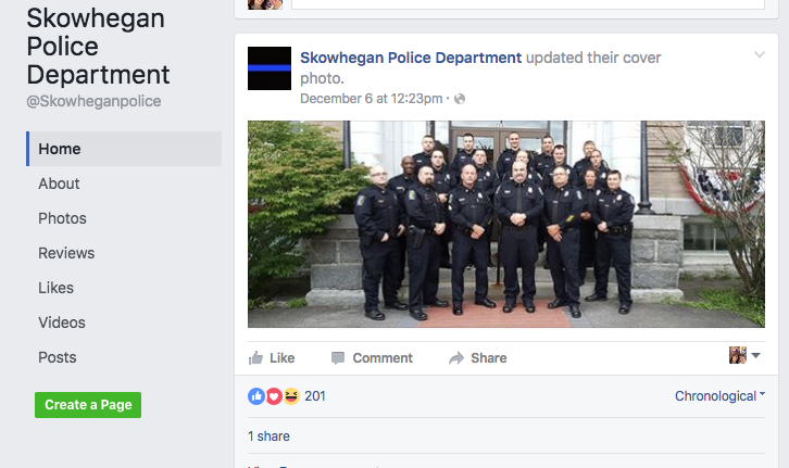 The real Skowhegan Police Department Facebook page has information about the fake site along with posts about local events and reminders for motorists who may get stranded on central Maine's roadways.
