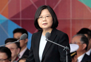 Taiwan's President Tsai Ing-wen spoke with U.S. President-elect Donald Trump on Friday, which is a major departure from decades of U.S. policy in Asia and which could rile mainland China.