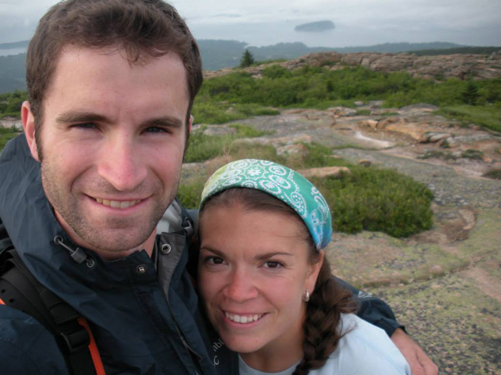 Will Fulford and his wife, Ashley Potvin-Fulford.