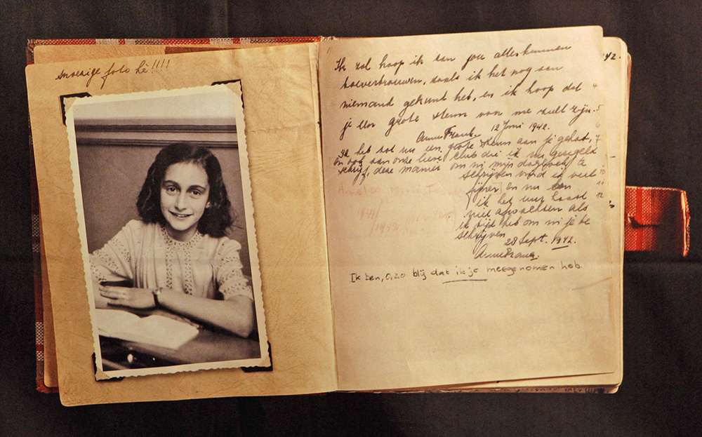a paper on anne frank Diary of anne frank this essay diary of anne frank and other 64,000+ term papers, college essay examples and free essays are available now on reviewessayscom autor: review • november 4, 2010 • essay • 344 words (2 pages) • 664 views.