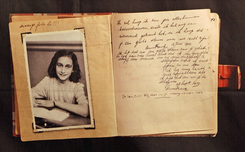 Research paper on the diary of anne frank