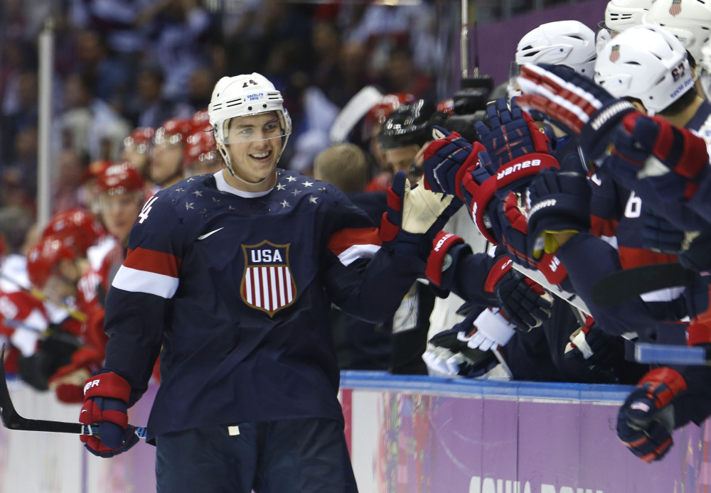 T.J. Oshie knows how important the Olympics can be for a player. In 2014, he hit one shot after another against the Russians in a shootout and became an instant Captain America. The Olympics present a stage not to be passed up.
