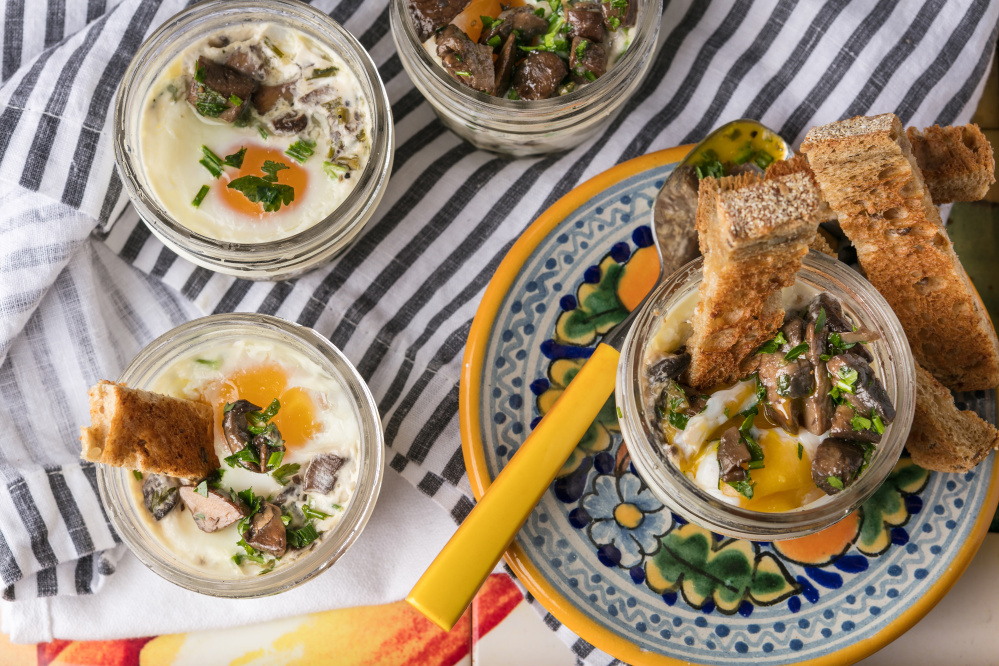Dorie Greenspan's Earthy Coddled Eggs. Like kale and quinoa, kimchi and anything charred, the egg is having its moment.