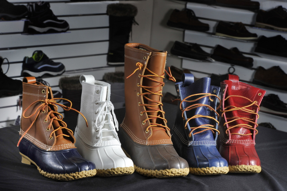 Sales of L.L. Bean boots are expected to increase again in 2017.
