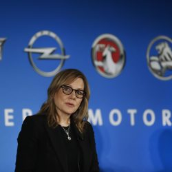 "CEO Mary Barra says she will stress GM's record as a job creator in the U.S. when she speaks to President-elect Trump, who has criticized GM for building cars in Mexico. ""We look forward to having the conversation with the administration,"" she said."