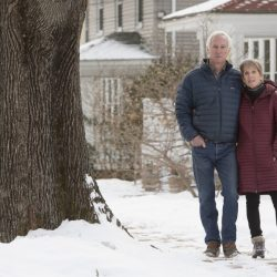 "Tom and Ellen Sidar, Bradley Street residents and members of the Friends of Deering Highlands group, say the city isn't doing enough to enforce zoning regulations when it comes to short-term rentals. ""Our city isn't even trying,"" Tom Sidar said."