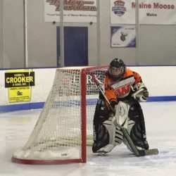 Cassie Demers has helped the Winslow/Gardiner girls hockey team to an 8-5-0 start to the season.