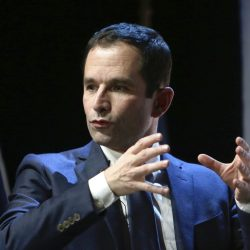 Benoit Hamon is campaigning for the French presidency on a promise of gradually introducing monthly living payments for all, because he expects jobs to keep getting scarcer.