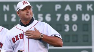 Former Red Sox pitcher Roger Clemens, a seven-time Cy Young Award winner, has risen from 37.6 percent in 2013 to 45.2 percent last year in Hall of Fame voting. This year he is tracking at 61.9, which would be short for election.