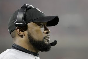 Coach Mike Tomlin of the Pittsburgh Steelers used profanity in describing the New England Patriots, not realizing his star wide receiver was allowing the world to listen in.