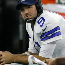 Tony Romo was hurt in the preseason and watched as Dak Prescott led the Cowboys to the NFC East title. Romo could be headed to a new team next year.