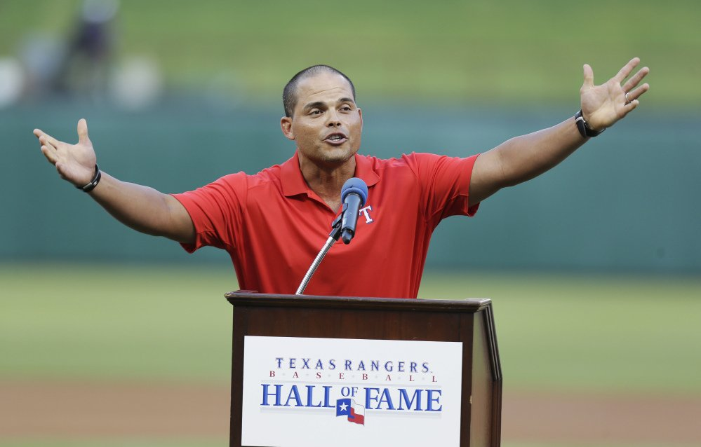 Former Texas Rangers and 14-time All-Star catcher Ivan Rodriguez was voted into the Baseball Hall of Fame on Wednesday, along with Tim Raines and Jeff Bagwell.