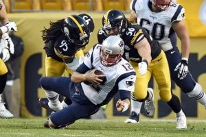 The Steelers weren't able to record a sack against Tom Brady during their regular-season matchup, and know they need to change that stat if they hope to pull off an upset Sunday.
