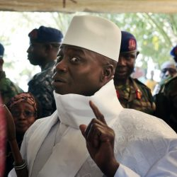 Gambia's former President Yahya Jammeh reportedly has agreed to step aside under the threat of a military offensive.
