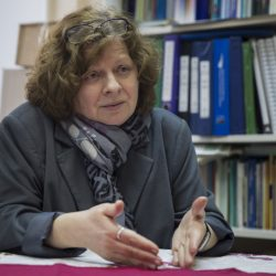 Alyona Popova, who started an online petition against a bill to decriminalize domestic violence, sees it as another repressive Kremlin policy targeting various groups, such as gays.