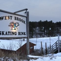 West Brook Skating Rink in Biddeford