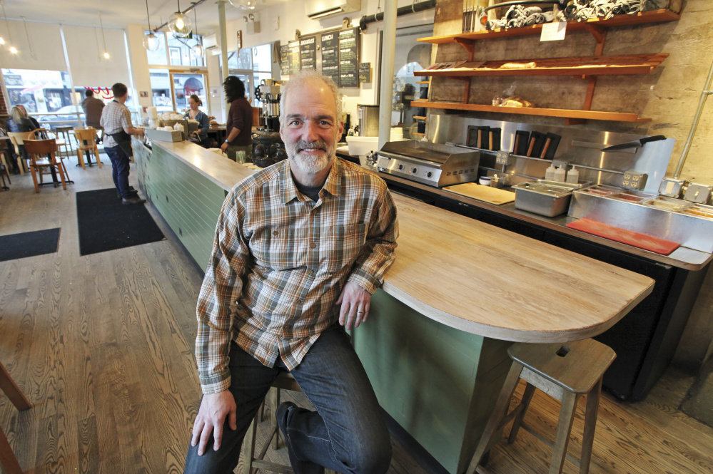 Michael Landgarten, owner of Bob's Clam Hut in Kittery, is opening a version of the popular restaurant in Portland.