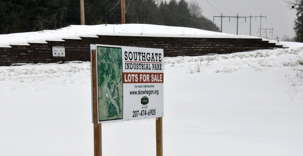 This Is The Entrance To Southgate Industrial Park In Skowhegan Where Civil Arms Inc
