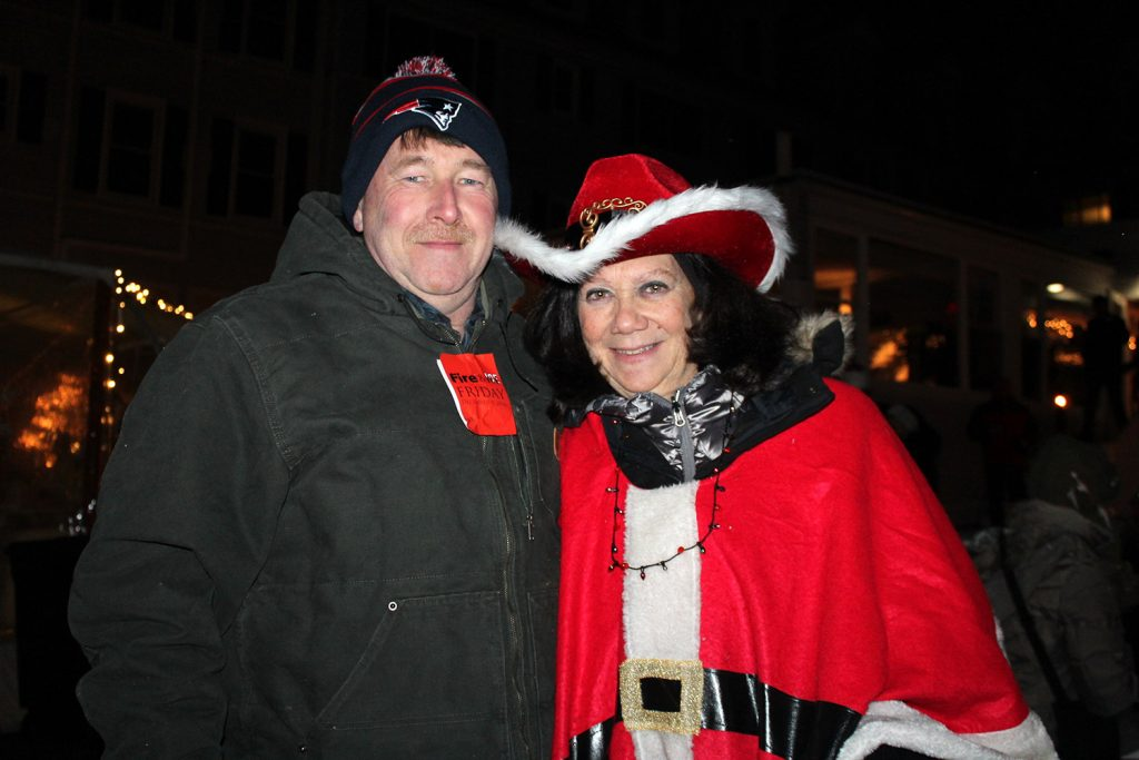 Keith and Eileen McPherson of Wells. The party at The Nonantum Resort raised money for schools and CPR training.